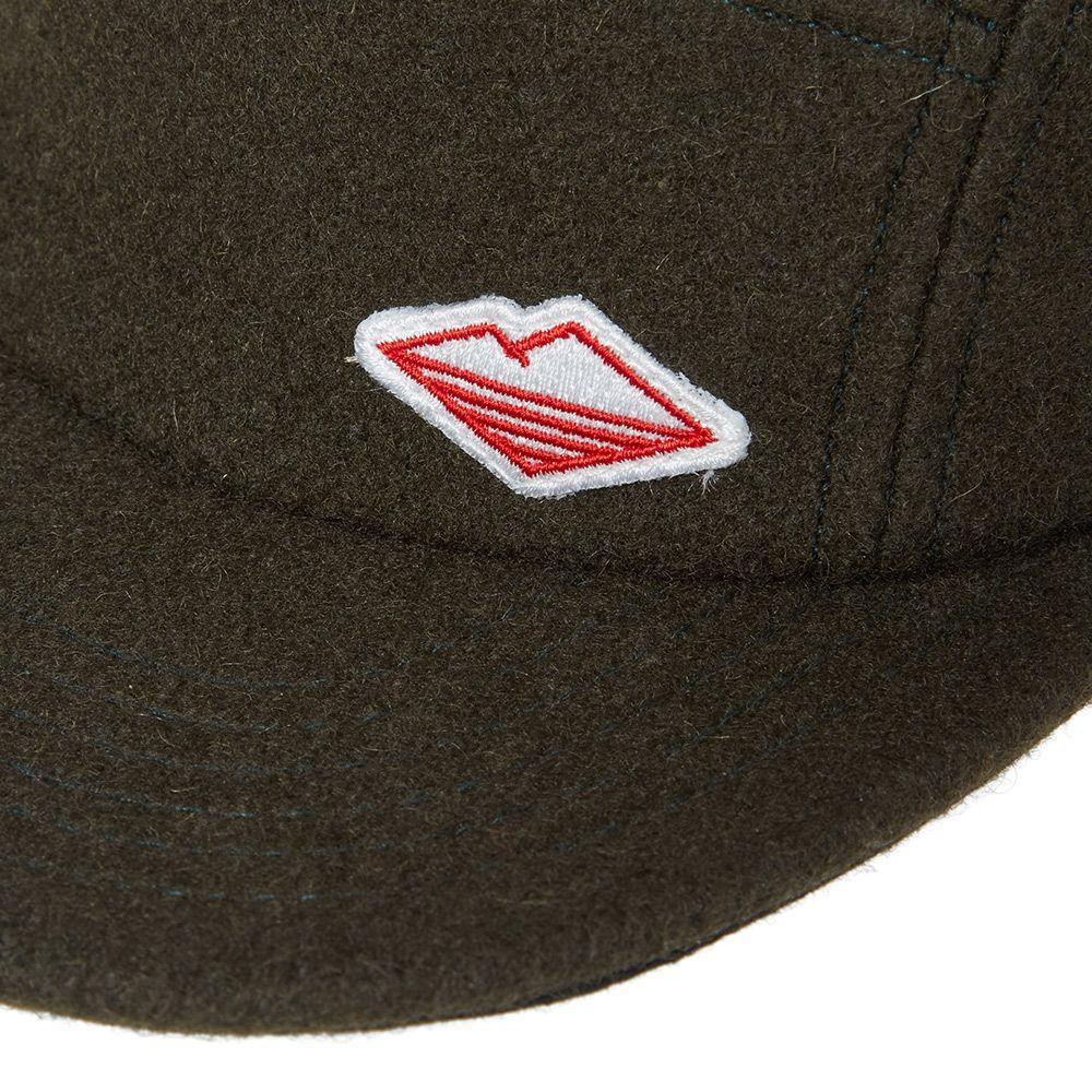 Battenwear Travel Cap Olive Melton Wool  b49e1593f5d7