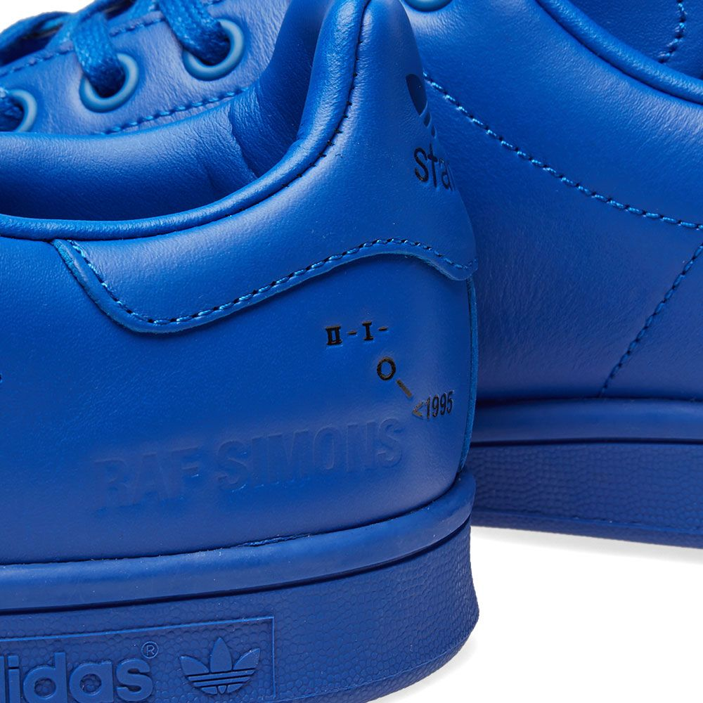 cbeac7c04a12 Adidas x Raf Simons Stan Smith. Blue ...
