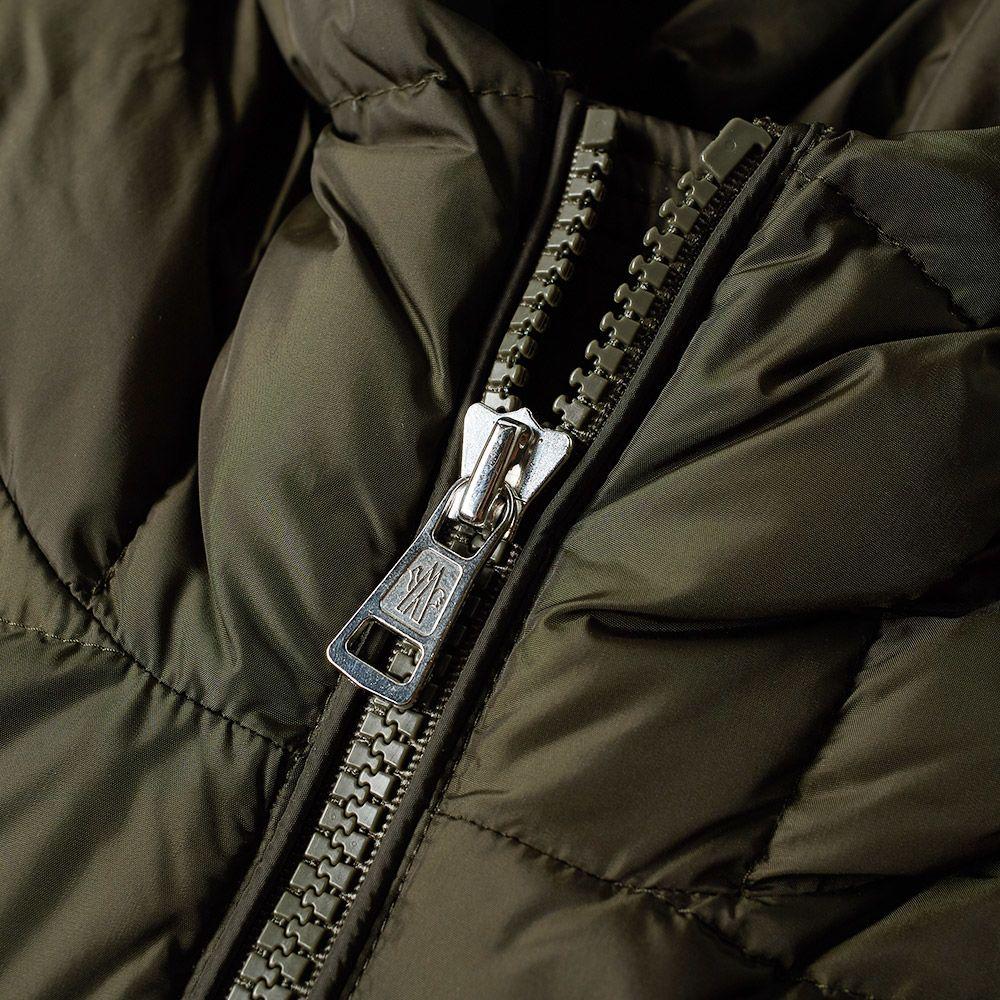 b82c367aba60 Moncler Aiton Logo Hooded Down Jacket Military