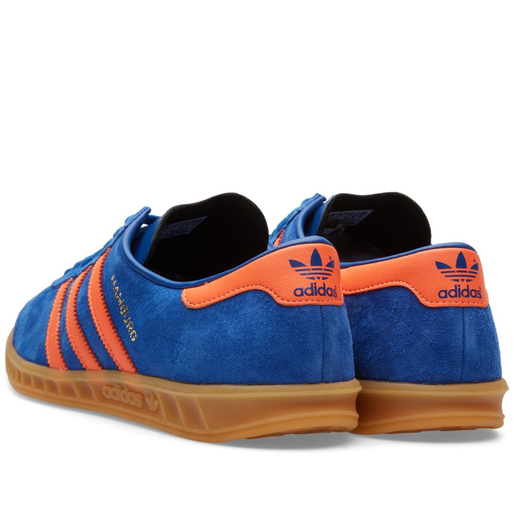 uk availability 05831 3e3b8 Adidas Hamburg Dublin. Collegiate Royal  Orange