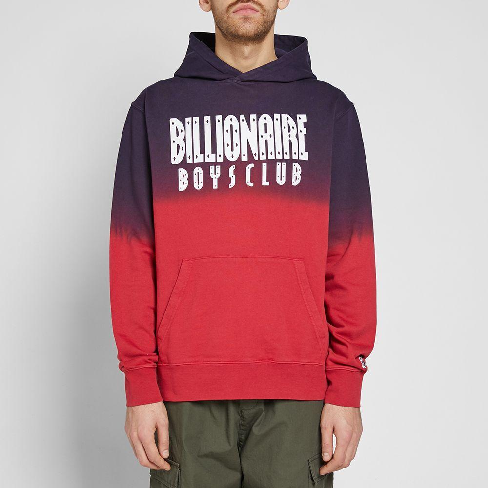 aae0d98383e Billionaire Boys Club Straight Logo Popover Hoody Red