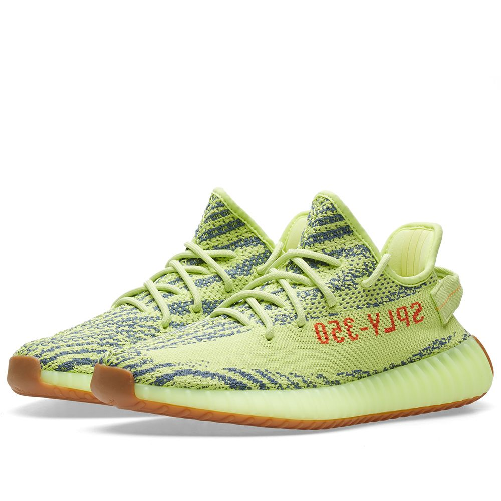 e6e2bb1e1dd58 Adidas Yeezy Boost 350 V2 Semi Frozen Yellow   Raw Steel