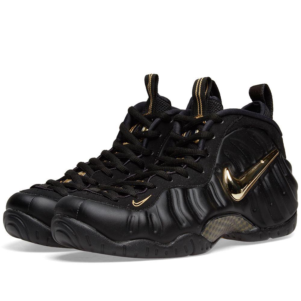 5155d50d3e811 Nike Air Foamposite Pro Black   Metallic Gold