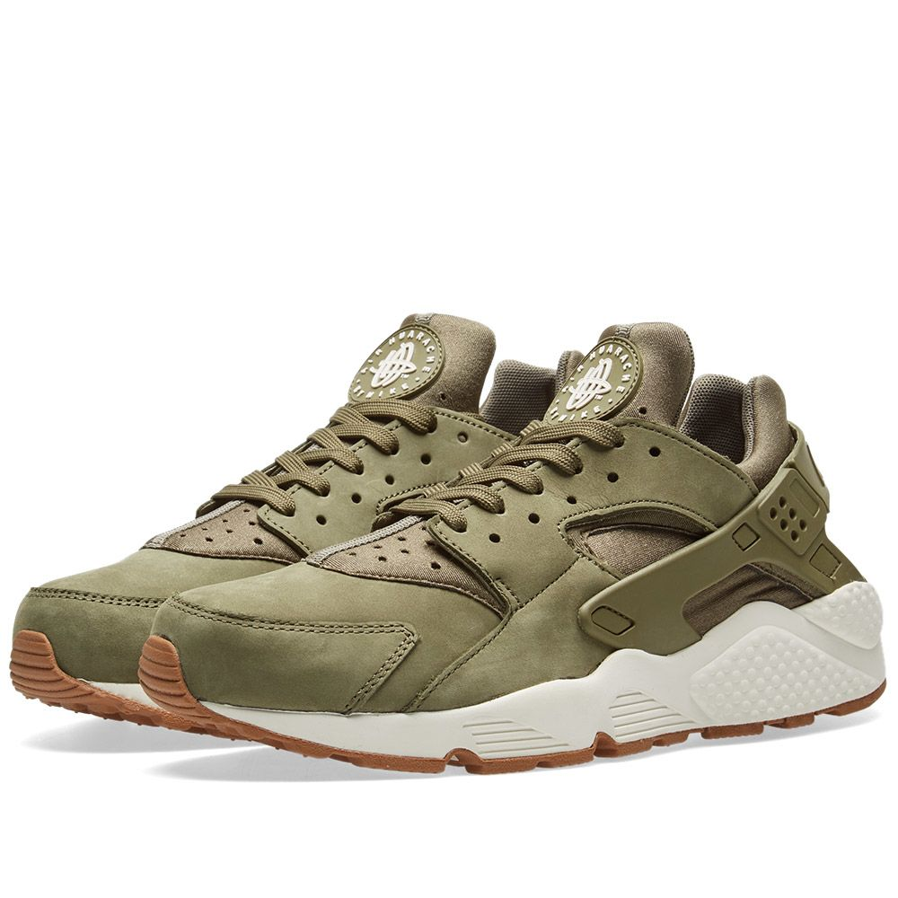 c12c0b91e5a5 Nike Air Huarache Run Medium Olive