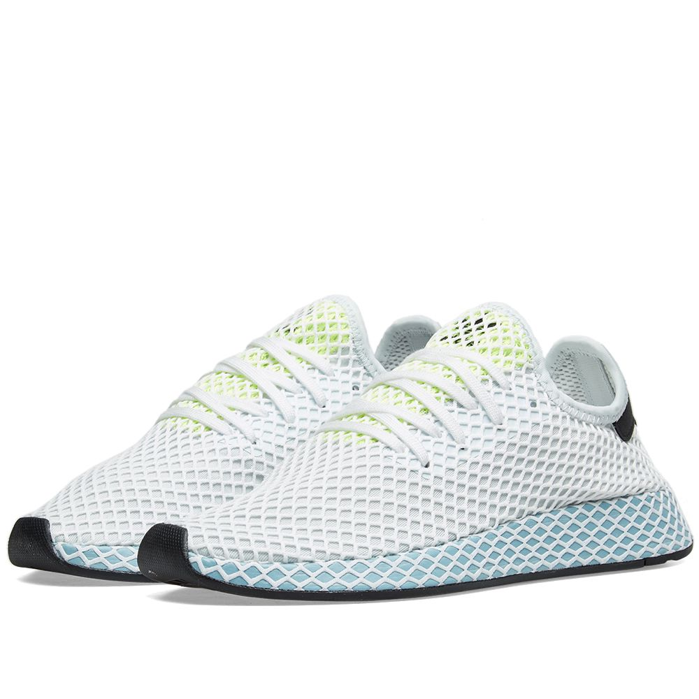 newest 1a04b ab995 Adidas Deerupt Runner W. Blue Tint. 95. Plus Free Shipping. image