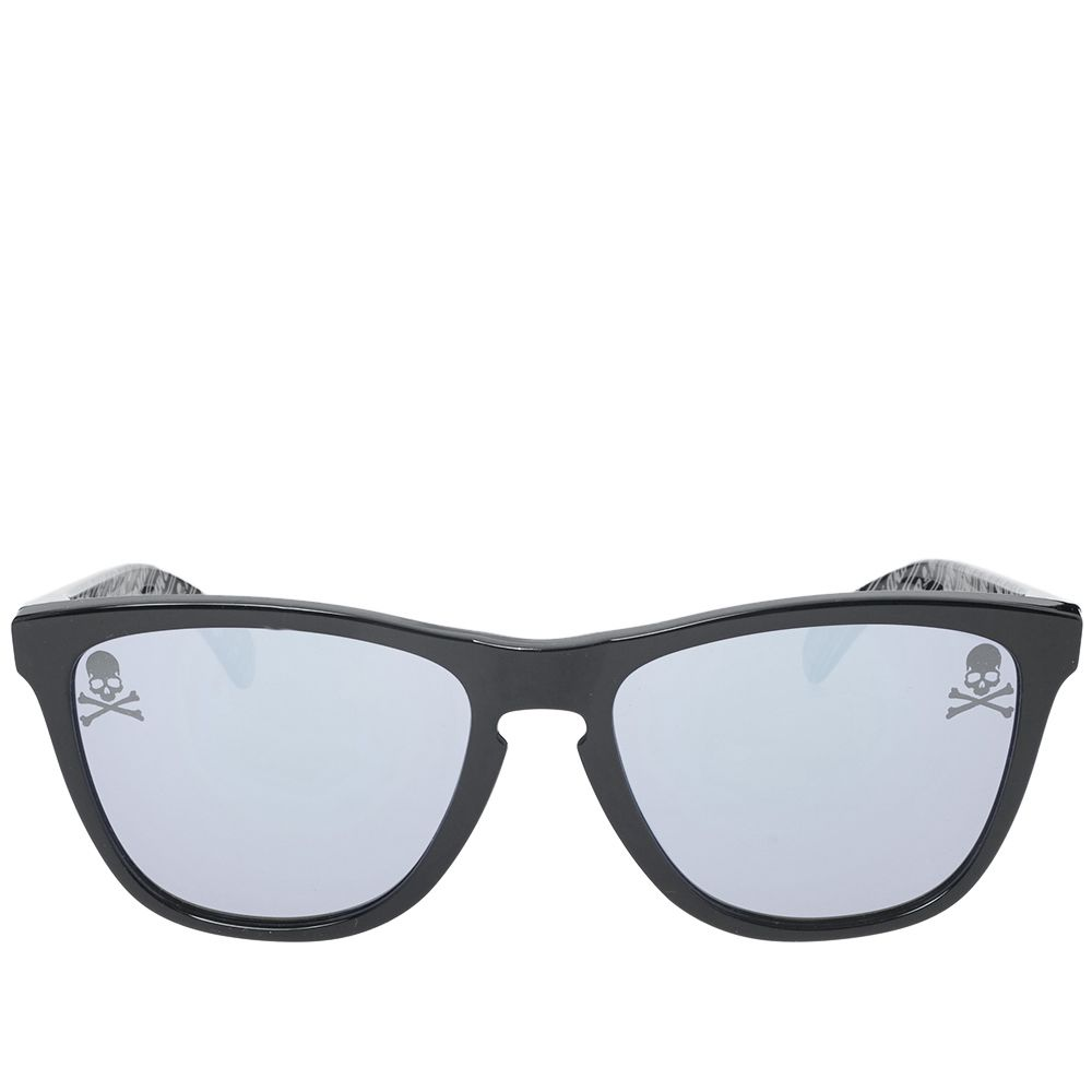58dce44637c Mastermind Japan x Oakley Frogskin Sunglasses Black   Iridium