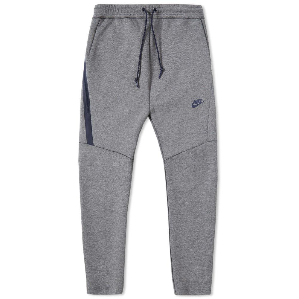 25e558851a61 Nike Tech Fleece Cropped Pant Carbon Heather   Obsidian
