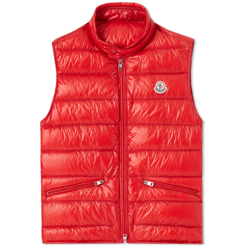 b9981caab Moncler Gui Gilet Red