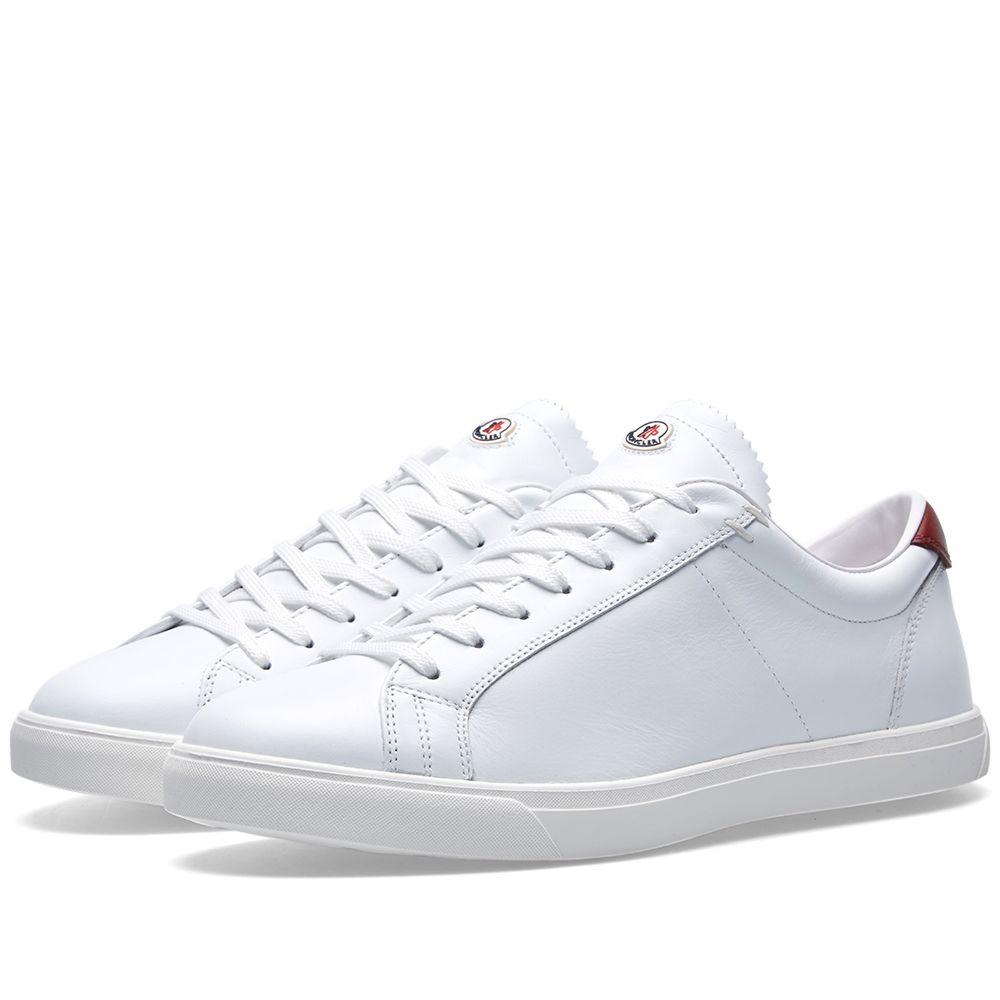f2855962c Moncler La Monaco Sneaker White   Red
