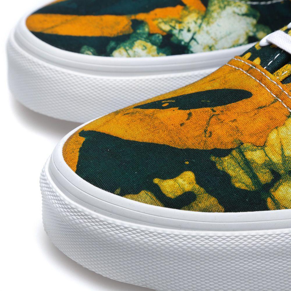 bc24d43985 Vans x Della Authentic Batik   Yellow