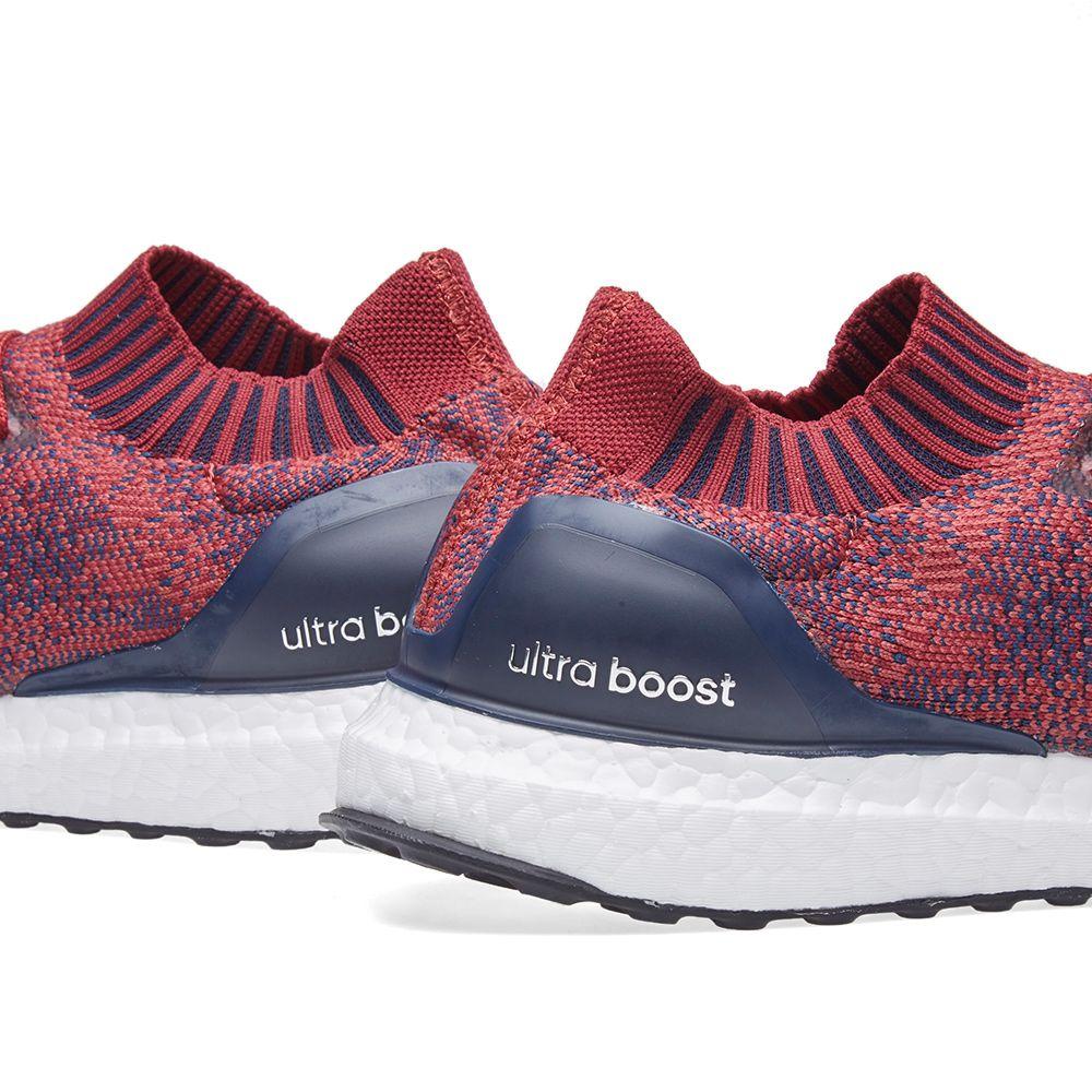 bddaa37b4892c Adidas Ultra Boost Uncaged Mystery Red   Burgundy