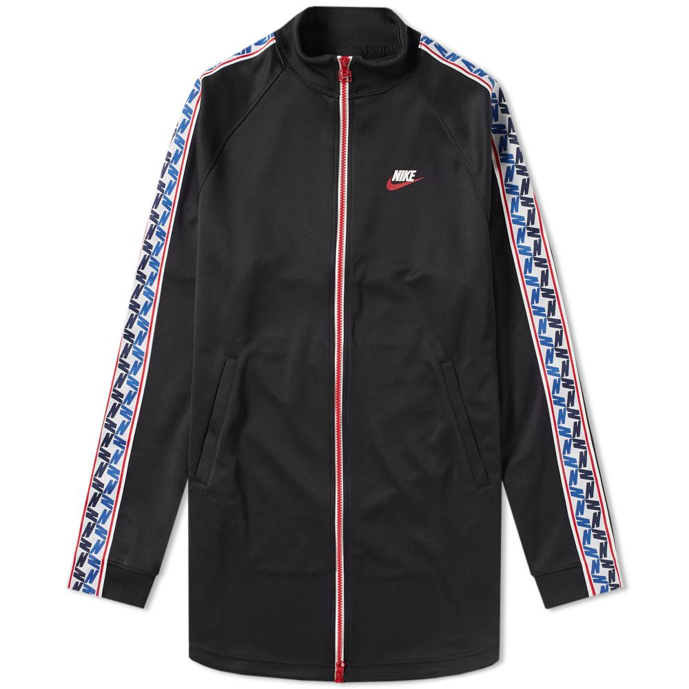 096369f14e32 Nike Taped Poly Track Jacket Black