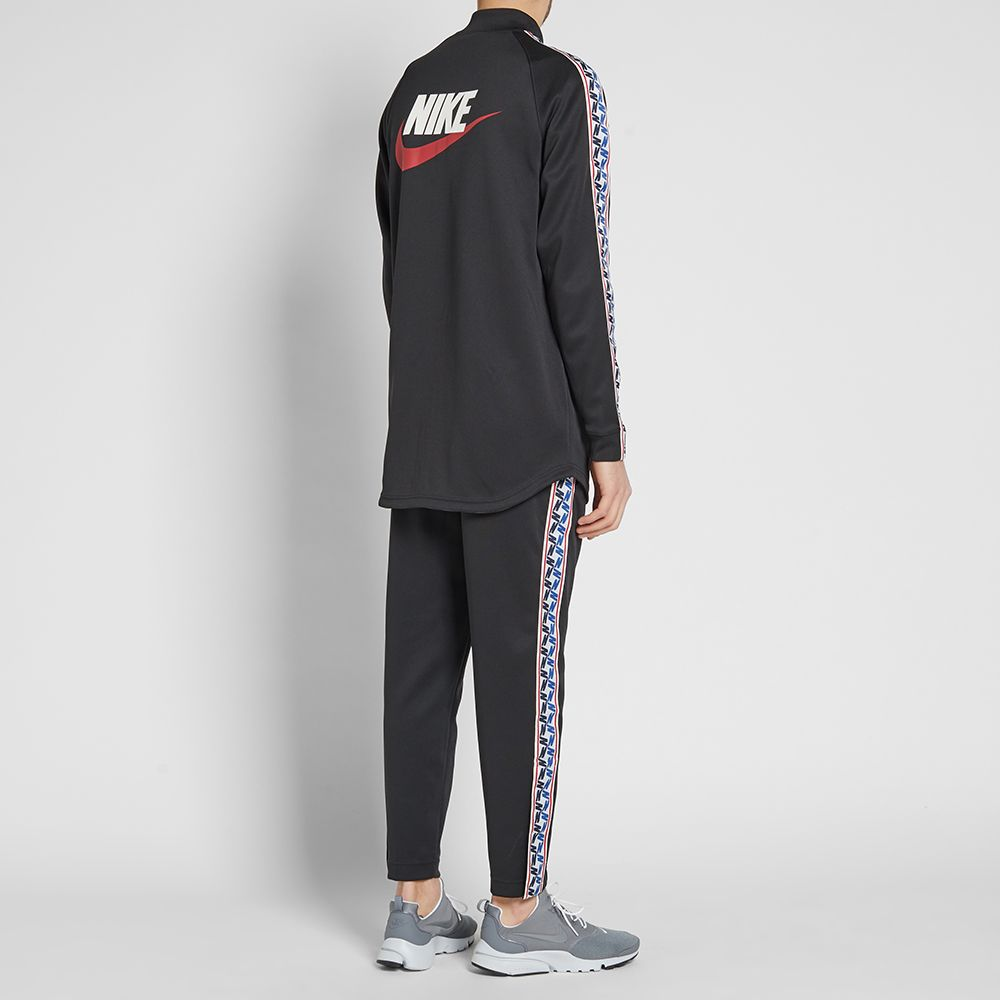 29feaed82800 Nike Taped Poly Track Jacket. Black