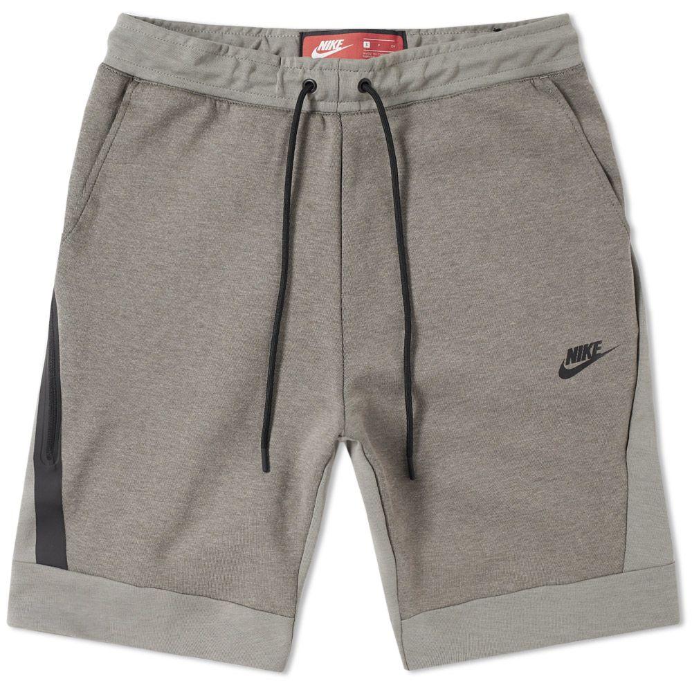 949a66b1f88c Nike Tech Fleece Short Dark Stucco