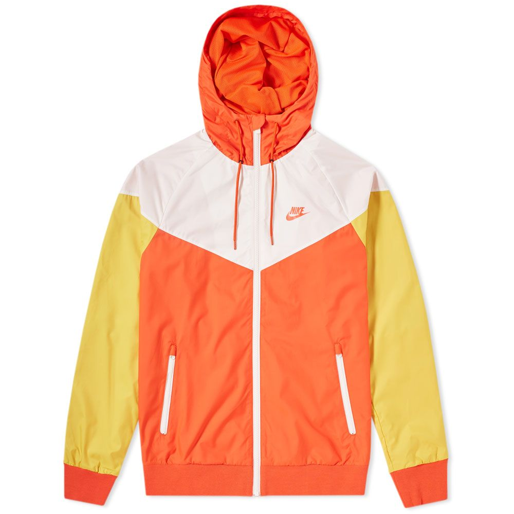 dfb159dc7122 Nike Windrunner Jacket Team Orange   Sail