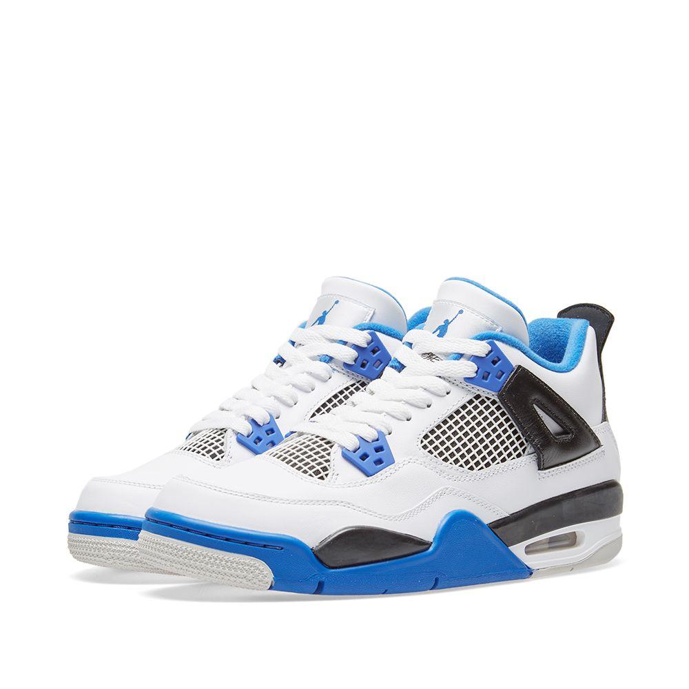 d60a41c277300c Nike Air Jordan 4 Retro GS  Motorsport  White