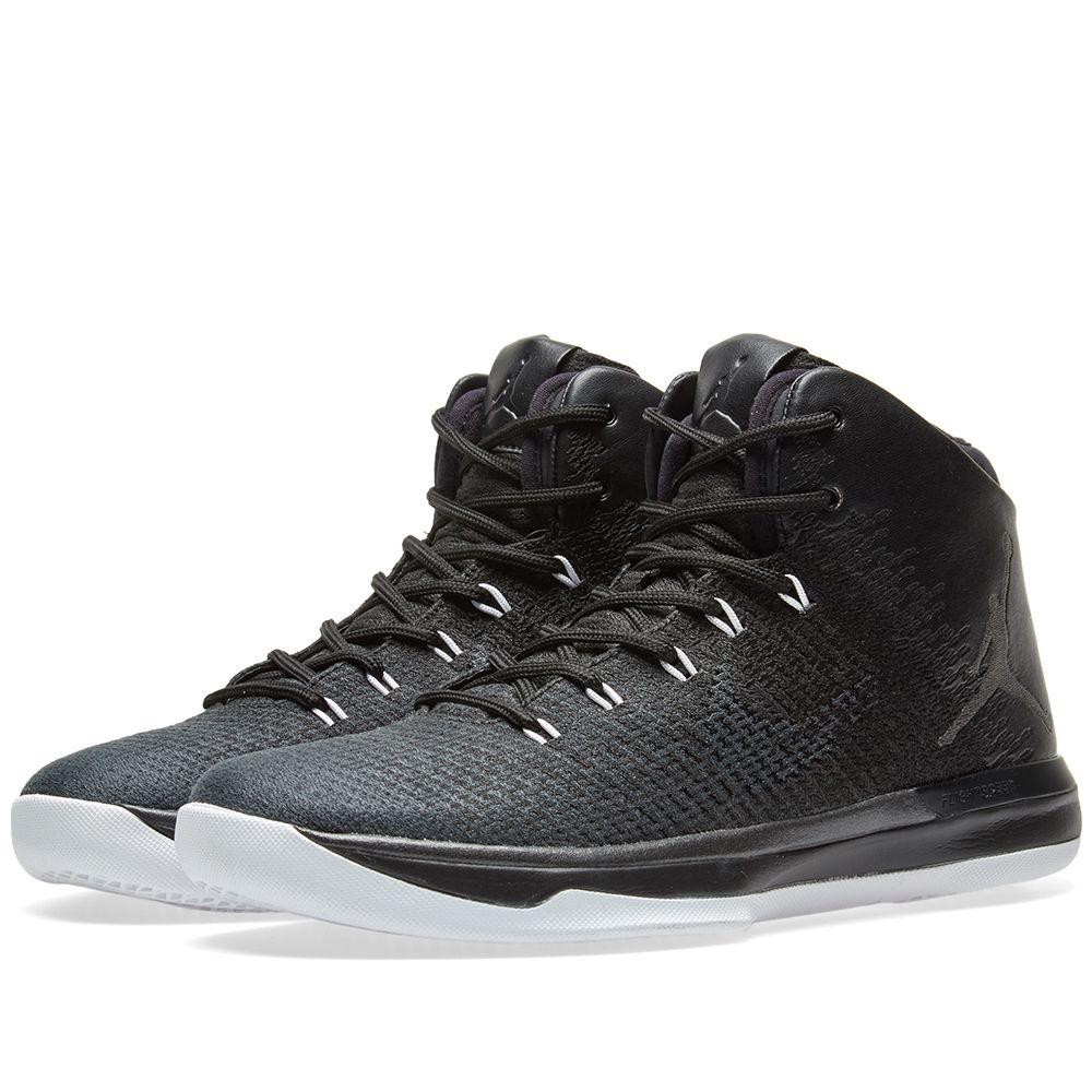 78957f62d04 Nike Air Jordan XXXI 'Black Cat' Black & Anthracite | END.