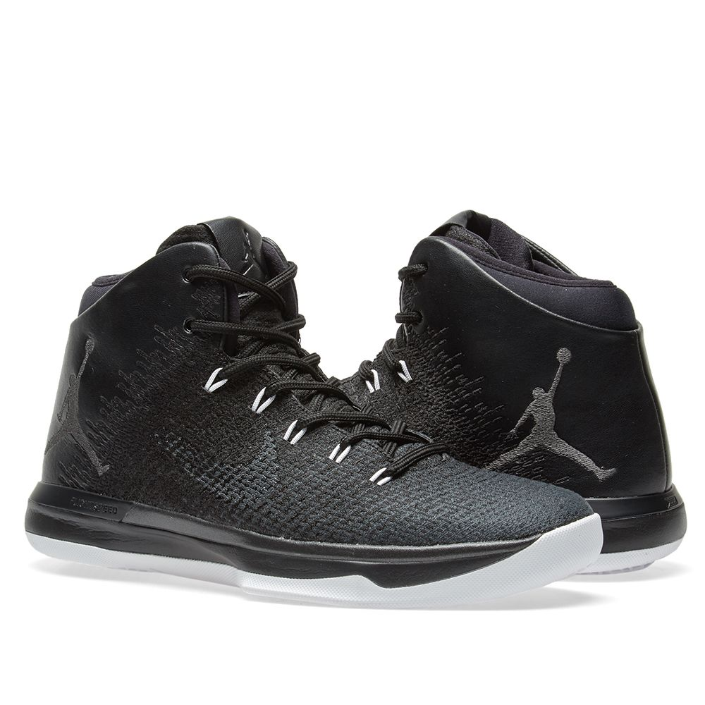 san francisco d0bf5 f942d Nike Air Jordan XXXI Black Cat Black  Anthracite  END.