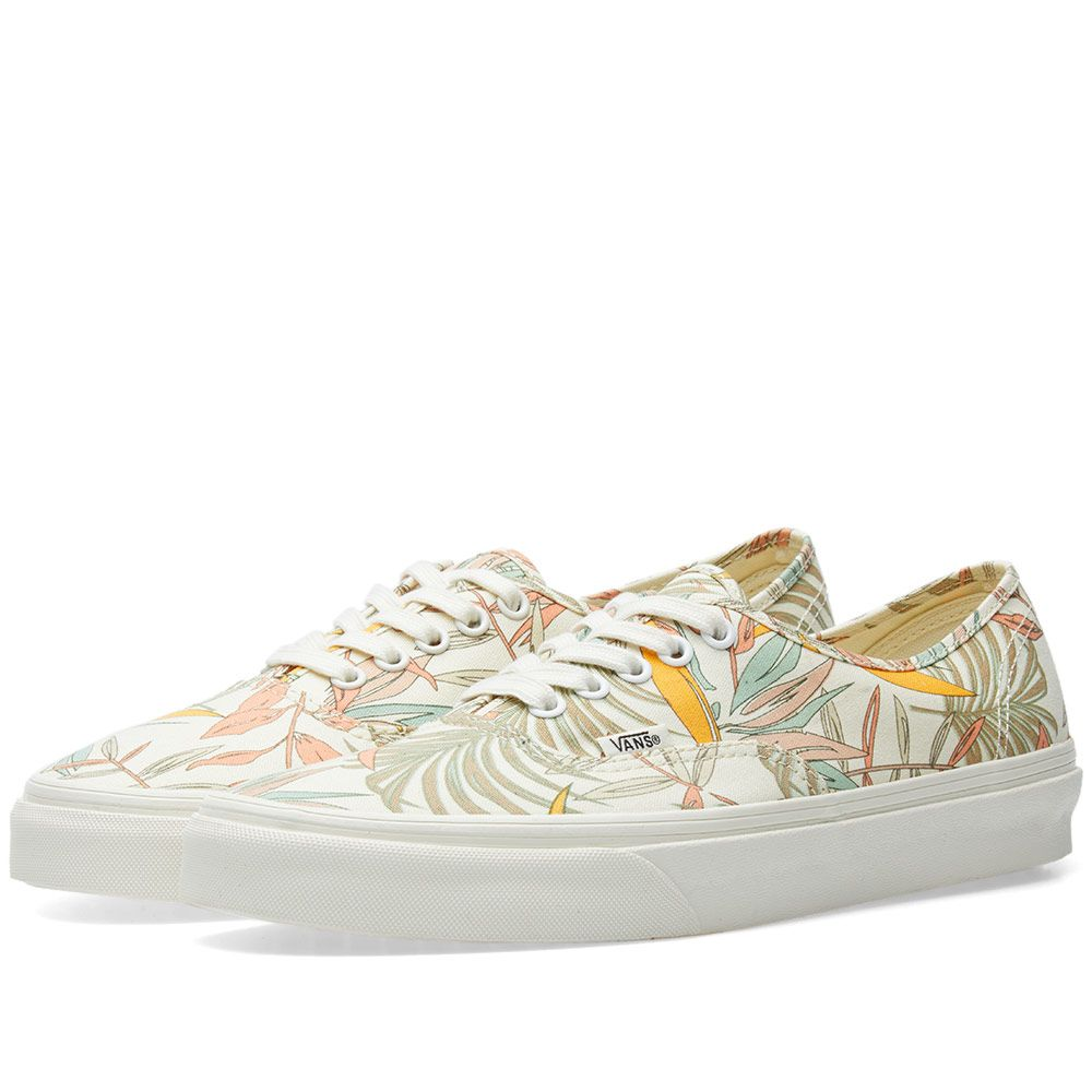 dae10eb8fb Vans Authentic California Floral Marshmallow