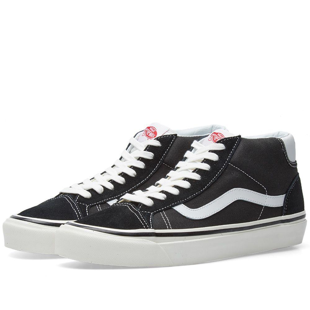 98cc5bfa848 Vans Mid Skool 37 DX Black   White