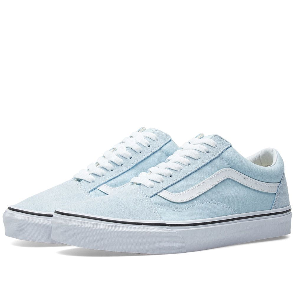 fde0e5e7ef9bbd Vans Old Skool Baby Blue   True White