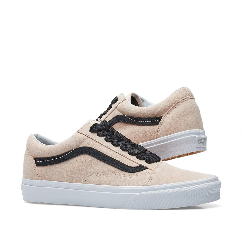 86d0f32e0bfd Vans UA Old Skool Oversized Lace Sepia Rose   Black