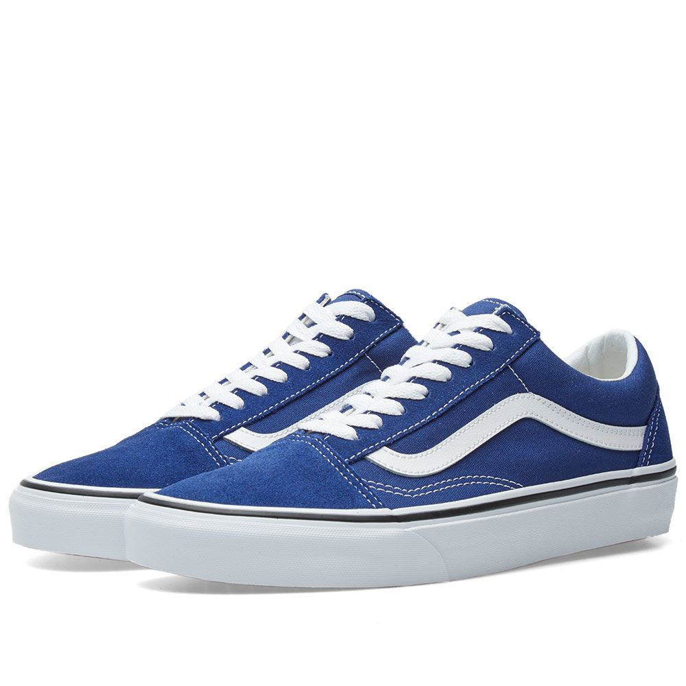 ad0f5342820 Vans Old Skool Estate Blue   True White