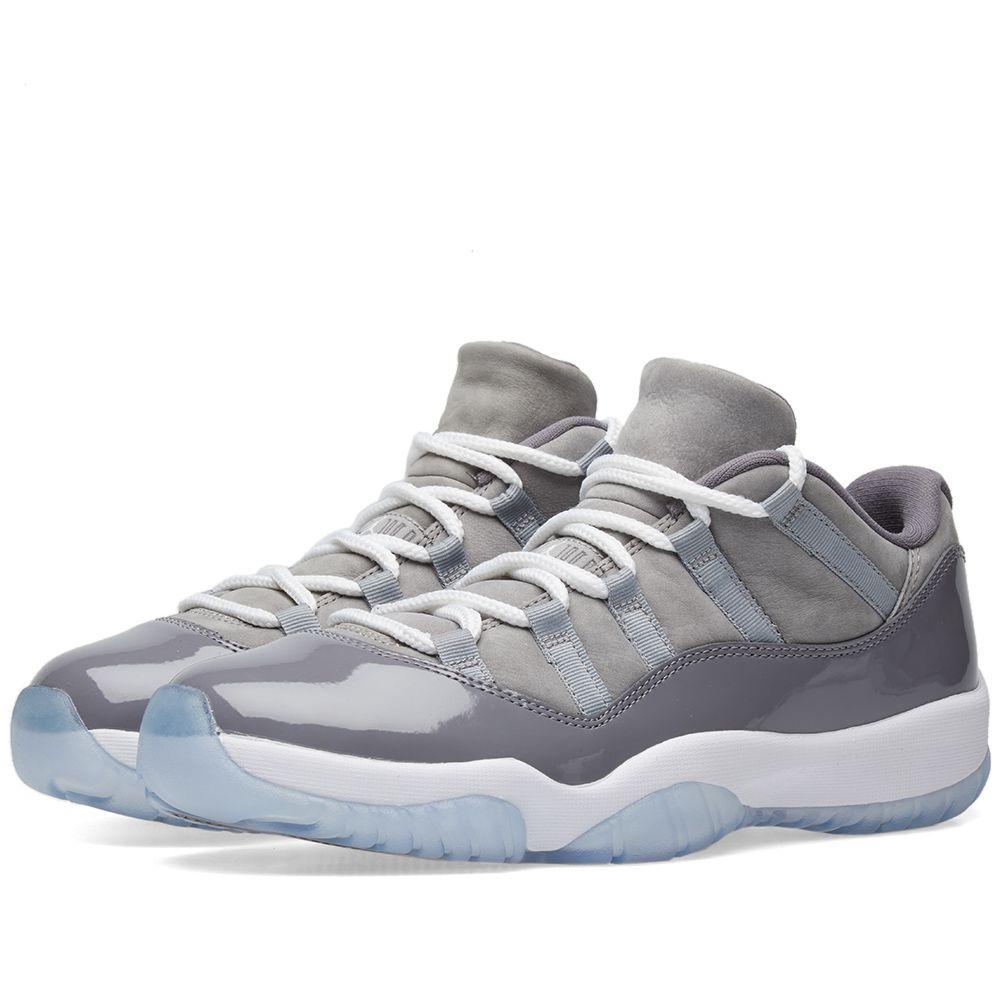 Nike Air Jordan 11 Retro Low Medium Grey 85f5104df