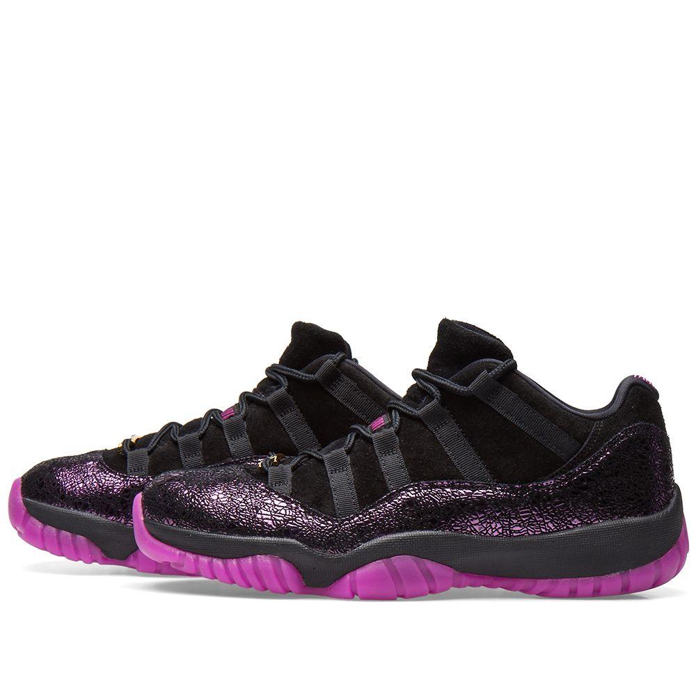 040afeaa892bf Air Jordan 11 Retro Champions Think 16 Black   Fuchsia Blast