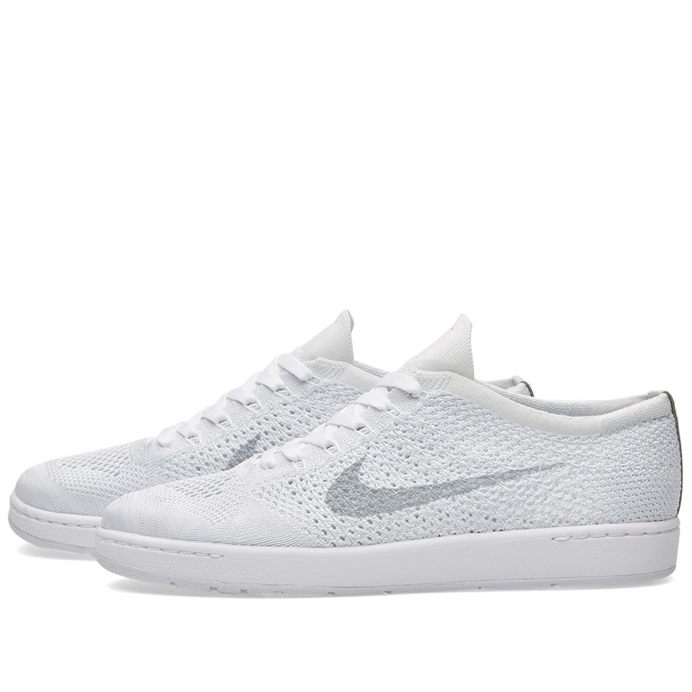 new styles 459be 58dce Nike W Tennis Classic Ultra Flyknit. White   Wolf Grey. CA 155 CA 85.  image. image. image. image