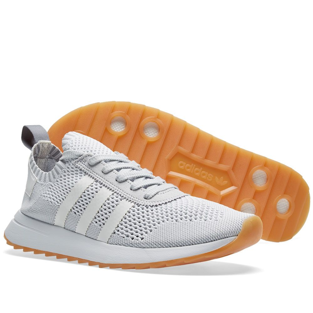 best sneakers 8bb6a 86c32 Adidas Flashback PK W. White  Clear Grey