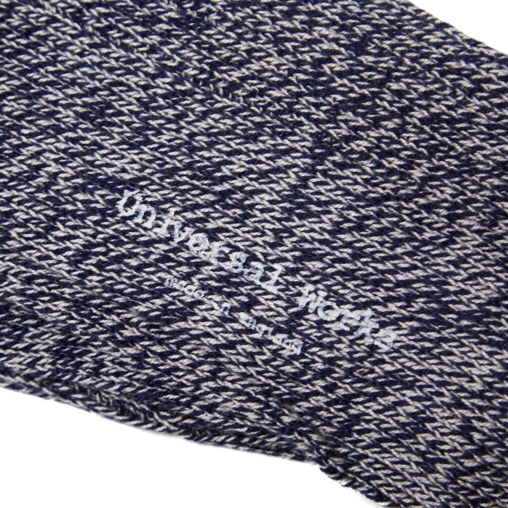 0761e3247b8 Universal Works Marl Soft Sock Navy