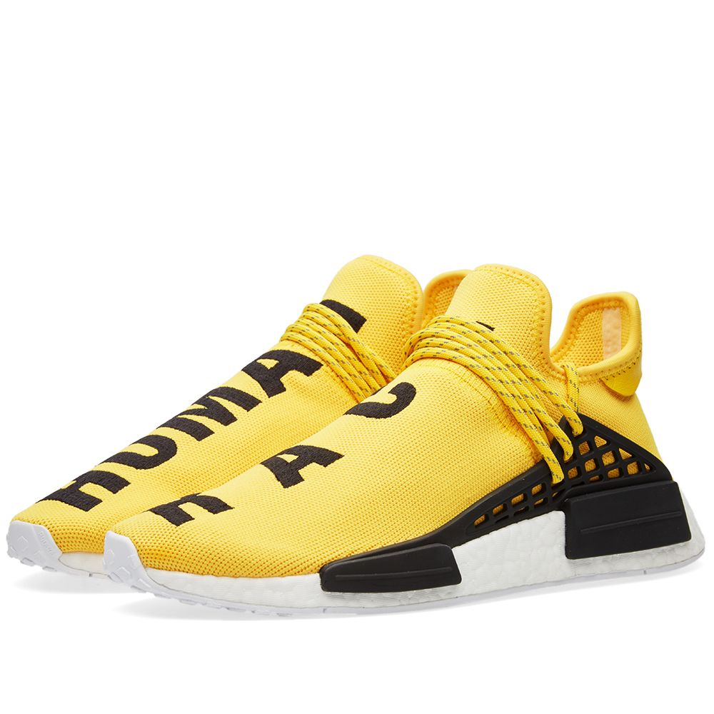 854699fcfbbf Adidas x Pharrell Williams Hu Human Race NMD EQT Yellow