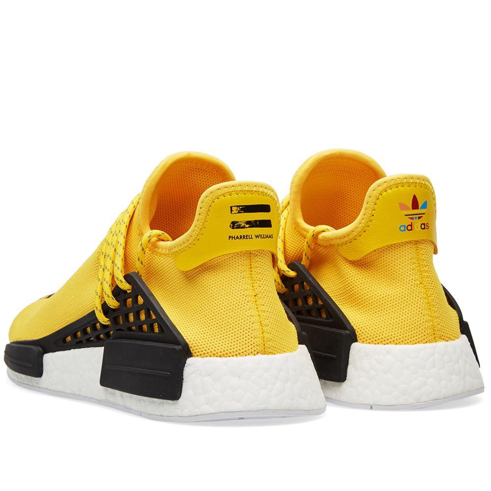 Adidas x Pharrell Williams Hu Human Race NMD EQT Yellow  2618a320bd5b