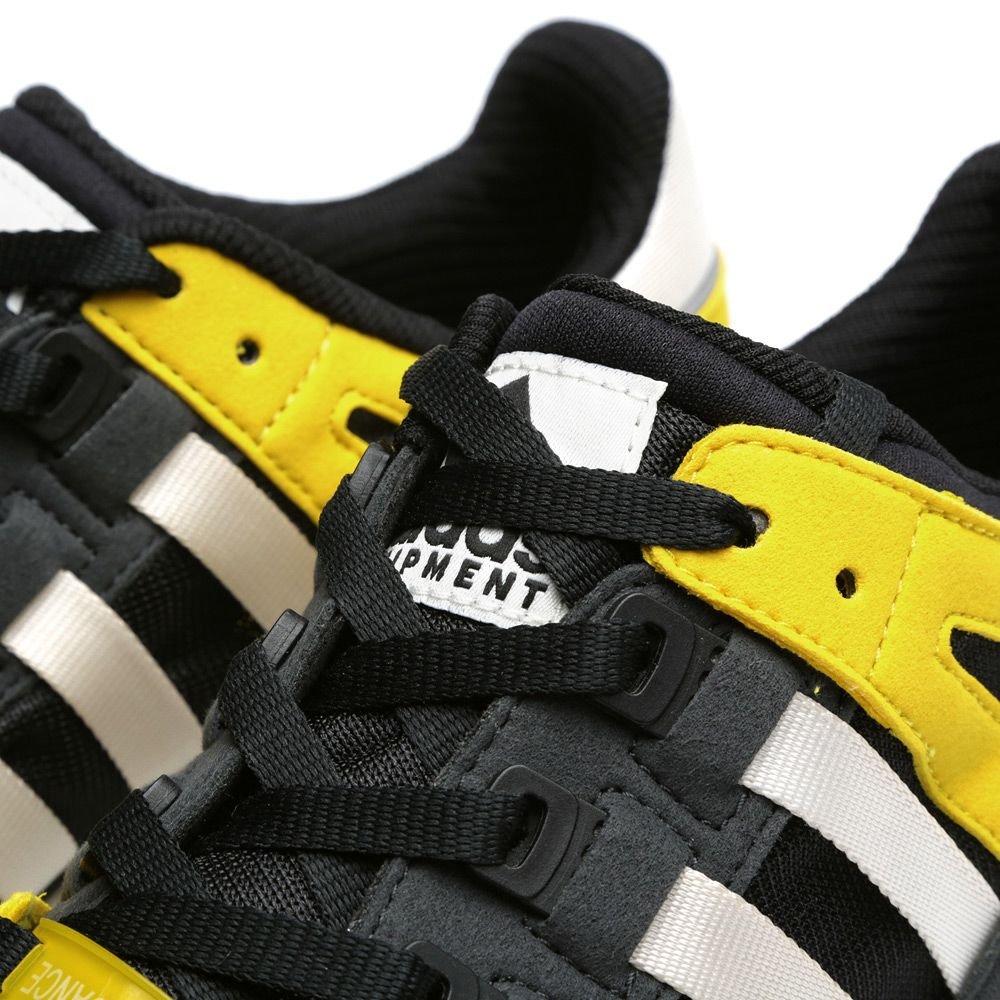 lowest price 2ad0b cabb1 Adidas EQT Running Guidance 93 Black, Chalk  Sun  END.