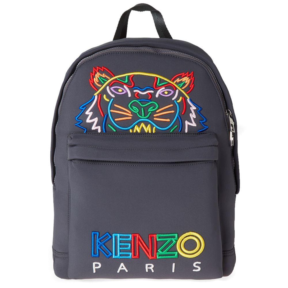 1d93ff09071 Kenzo Tiger Backpack  High Summer  Anthracite