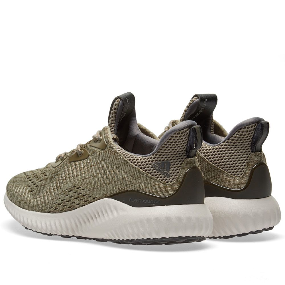 best sneakers 96a0c 85db2 Adidas Alphabounce EM Trace Olive  Trace Cargo  END.