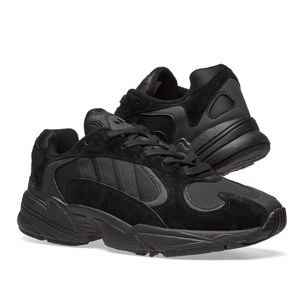 Adidas Yung 1 Core Black   Carbon  43cc3c9be