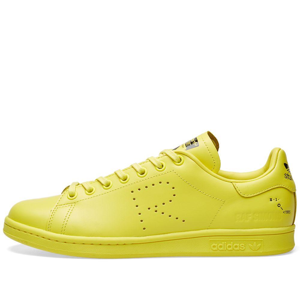 pretty nice b7d23 984a4 Adidas x Raf Simons Stan Smith. Yellow   White