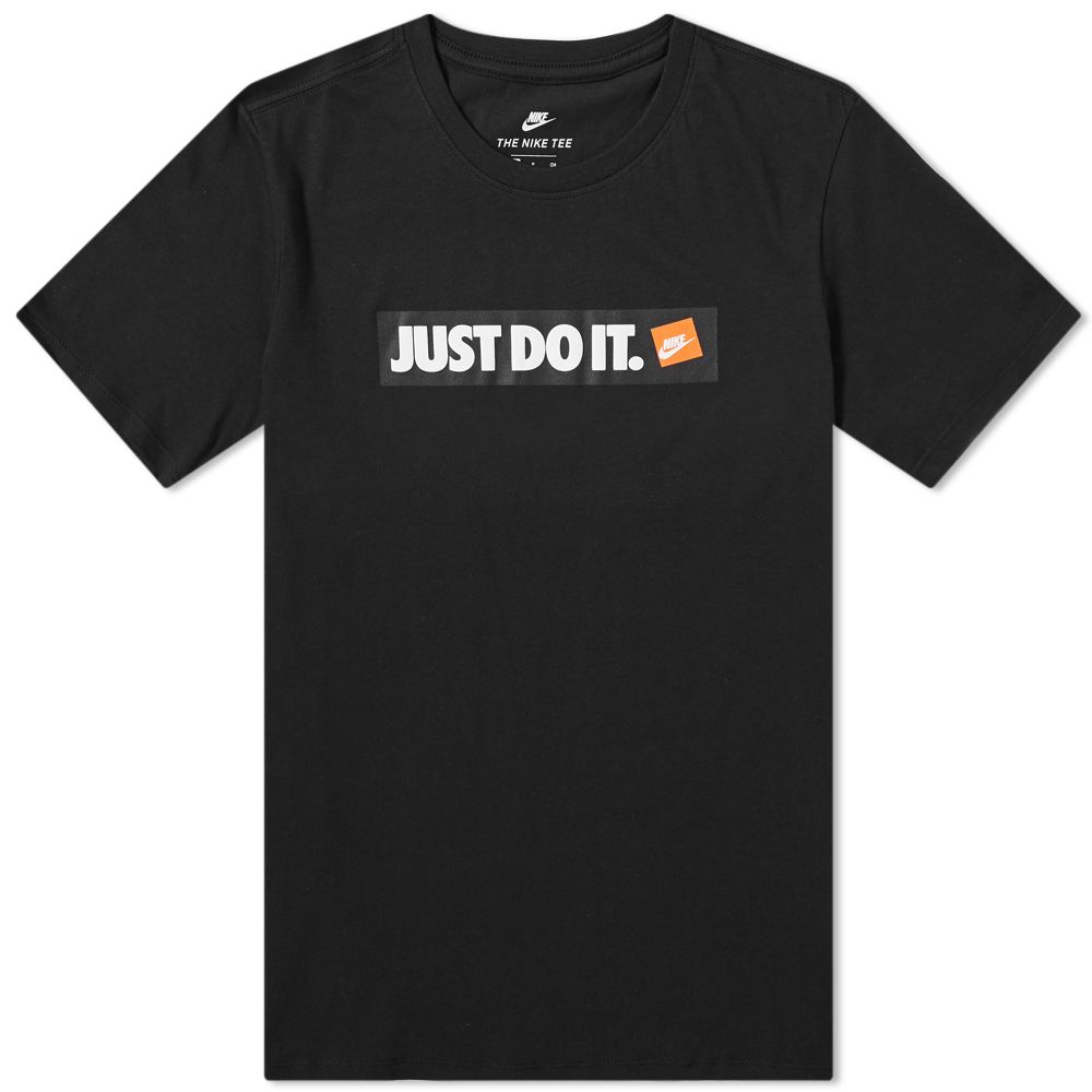 c7a362d9a76c9 Nike Just Do It Tee. Black. CA 39 CA 25. image