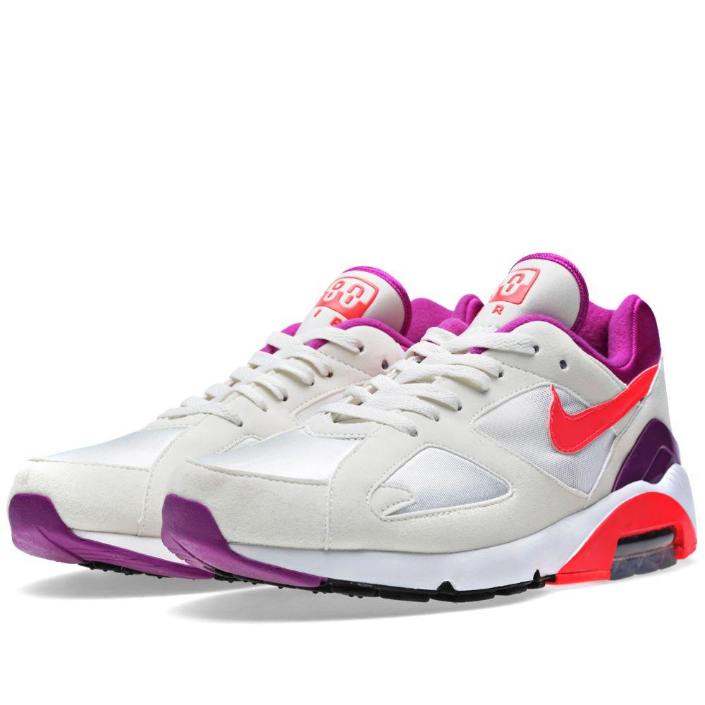 separation shoes ba051 bc2b3 Nike Air Max 180 QS Summit White  Laser Crimson  END.