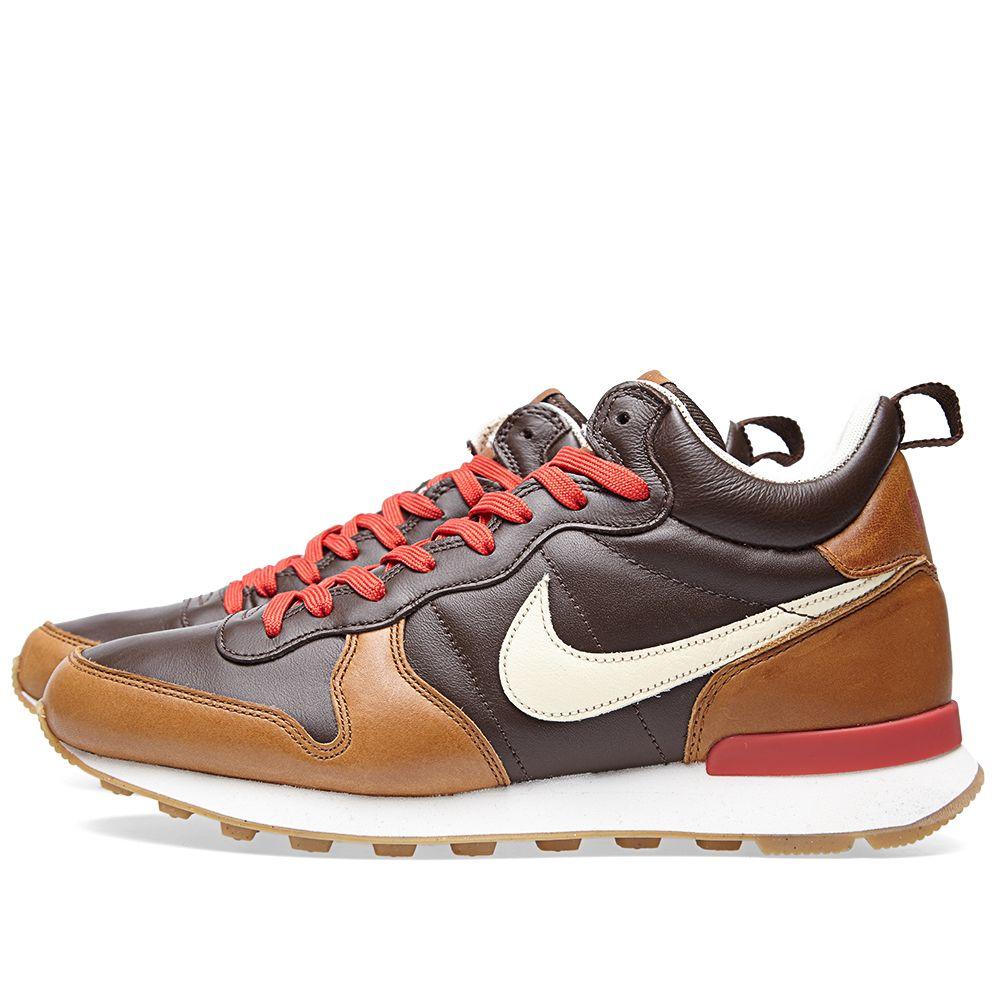 online store 06820 66526 Nike Internationalist Mid Escape Baroque Brown  END.