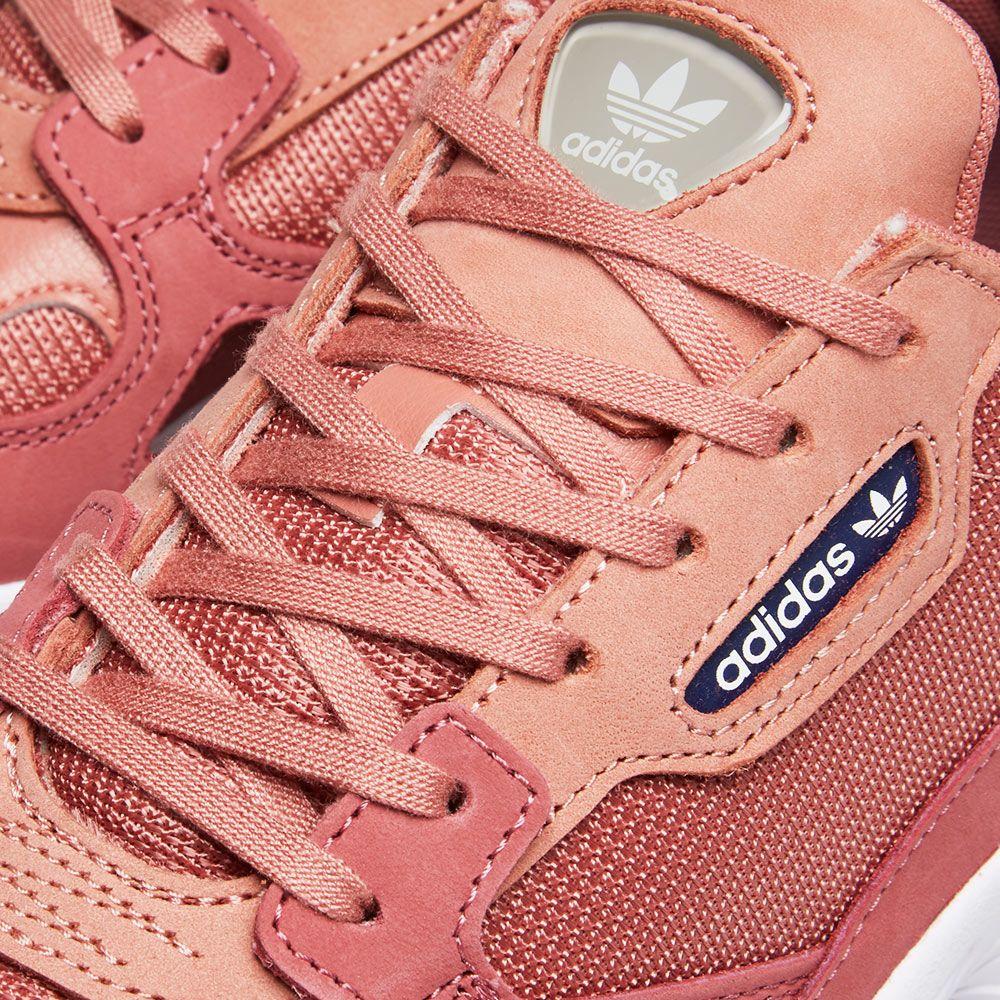 a7950a9c1f2 Adidas Falcon W Raw Pink   Dark Blue