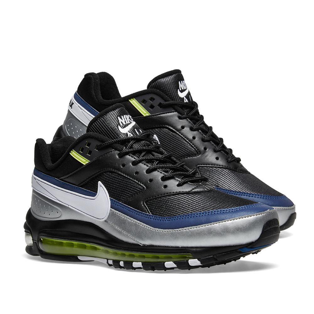 15458511534d51 Nike Air Max 97 BW Black