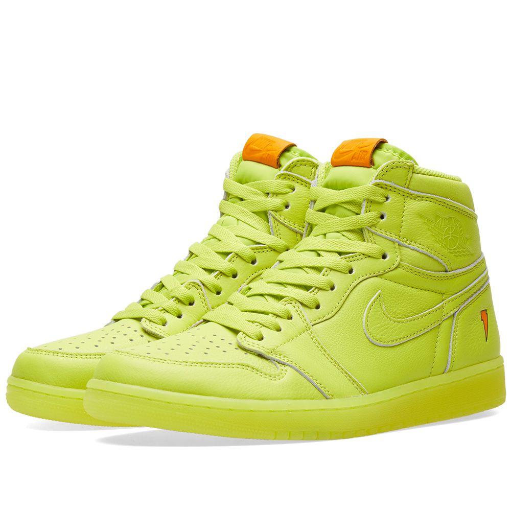 Nike Air Jordan 1 Retro OG  Gatorade  Cyber  d98d34b1f