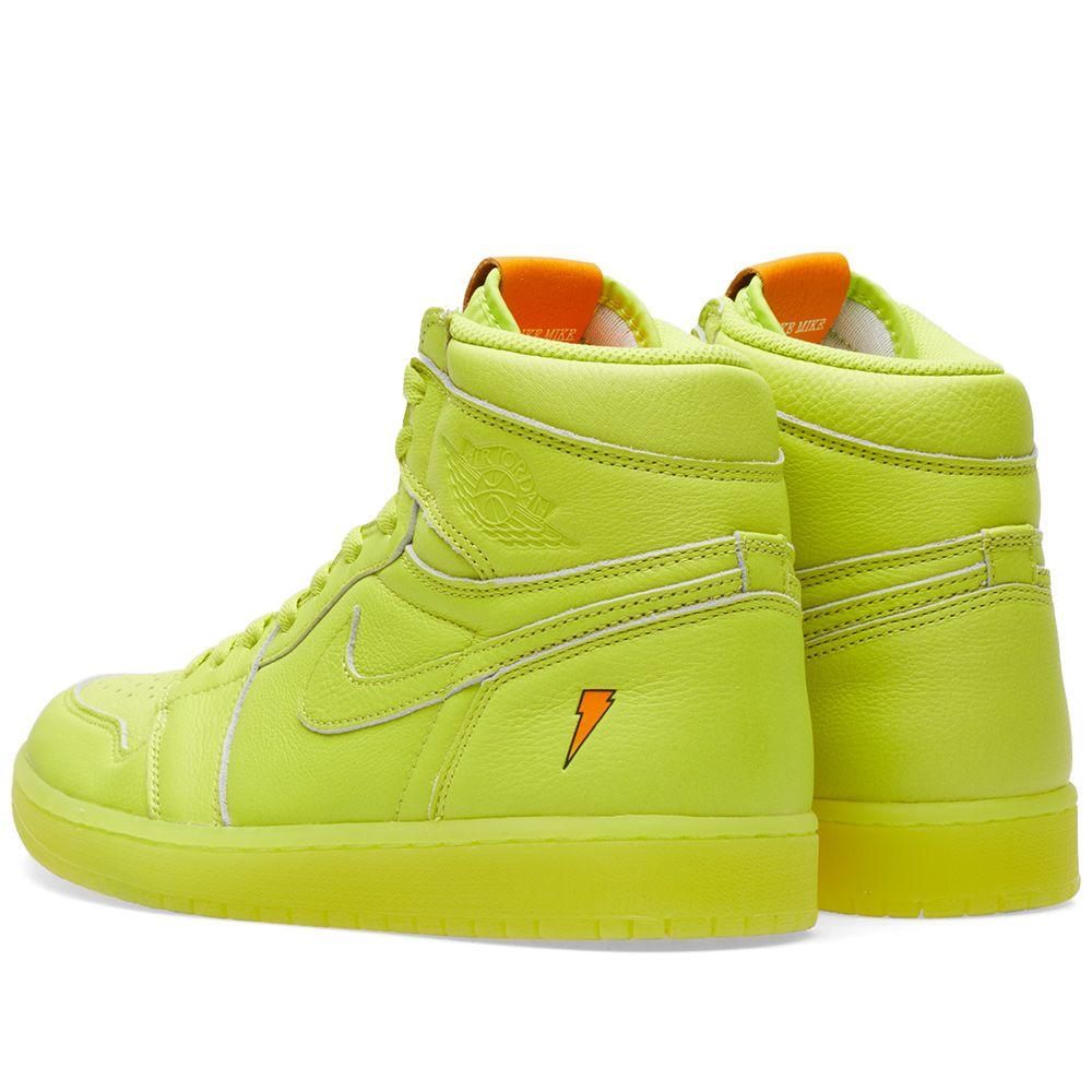 2895d796a18 Nike Air Jordan 1 Retro OG  Gatorade  Cyber
