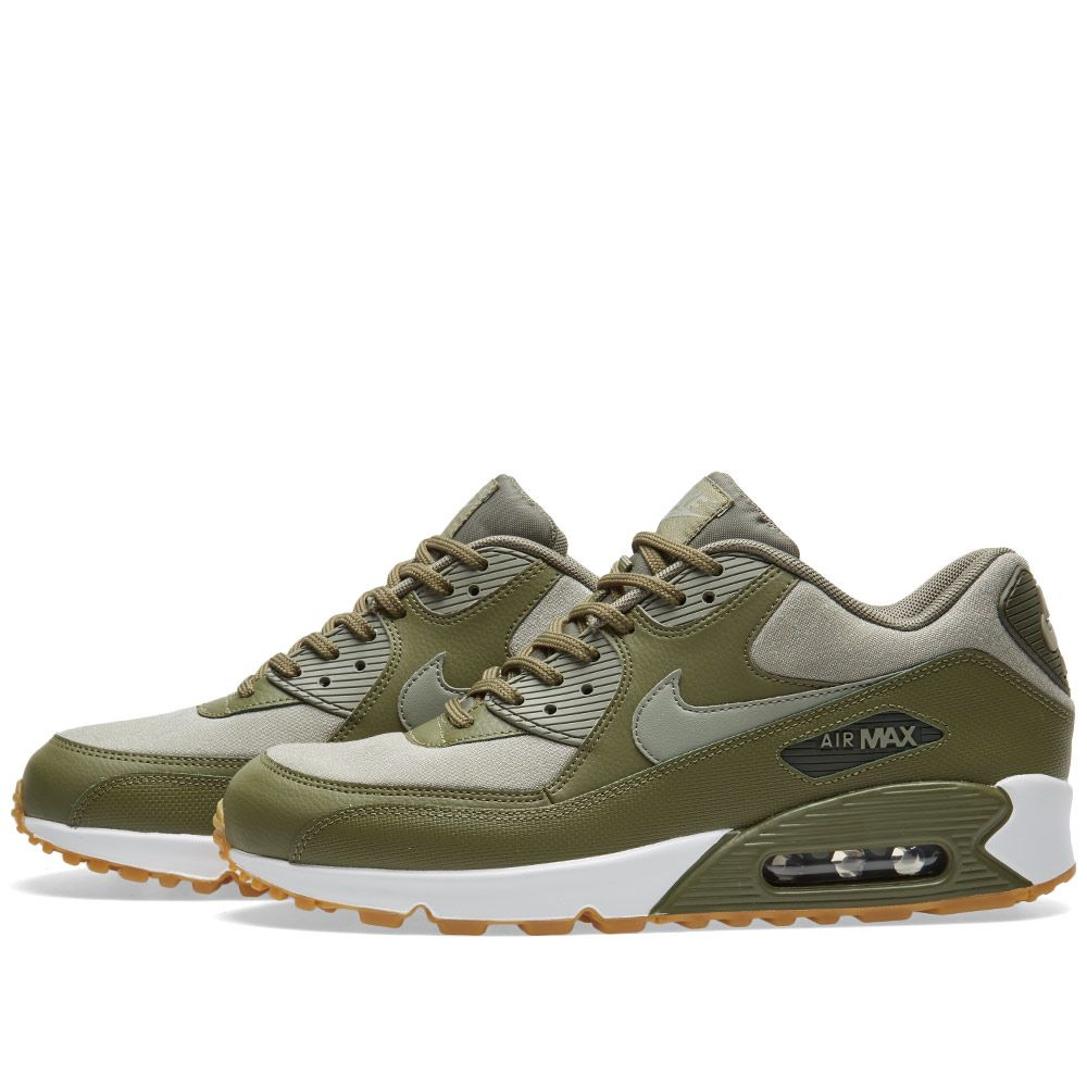 online store afbb0 af611 Nike Air Max 90 W Olive, Stucco  Sequoia  END.