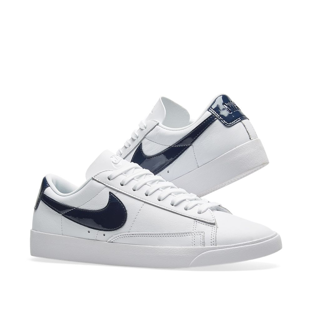 Nike Blazer Low LE W White   Obsidian  26423d22dd