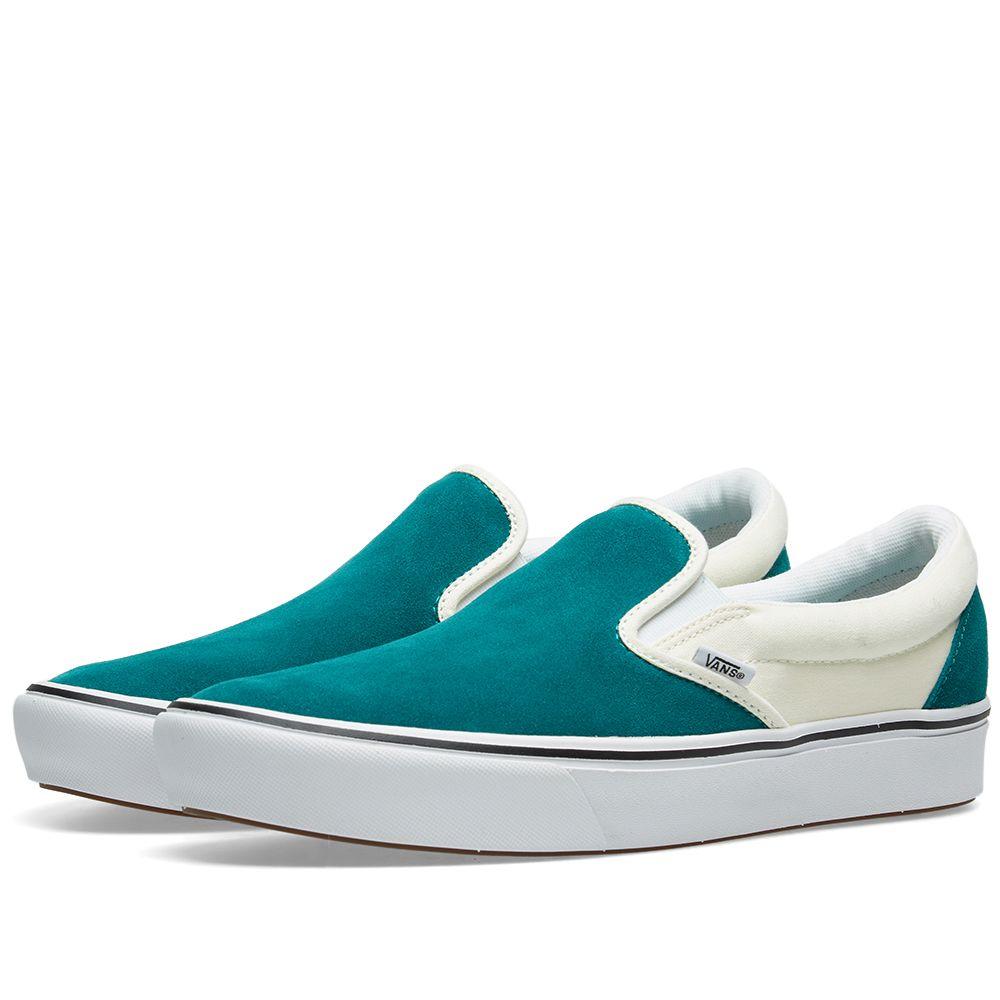 Vans UA ComfyCush Slip On Quetzal   Classic White  925c1e793
