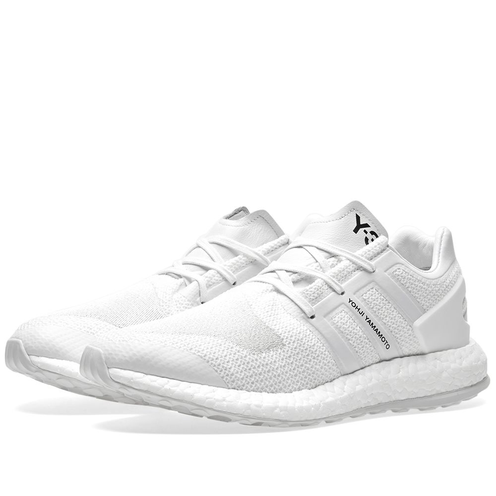 8f4203692cb Y-3 Pure Boost White   Crystal White